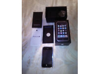 APPLE 16GB IPHONE 3GS BLACK BOXED LOVELY CONDITION UNLOCKED{ See description }