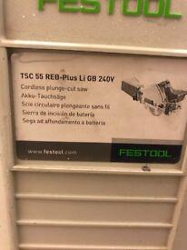 Festool tsc 55 cordless