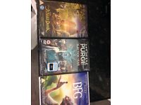 3 x dvds £15 for all 3