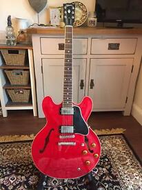 Gibson ES-335 Dot (Nashville 2004) May consider partial P/X for quality acoustic