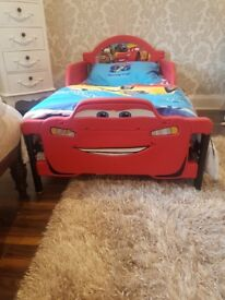 Disney cars toddler bed *NEW* (mattress/bedding NOT included)