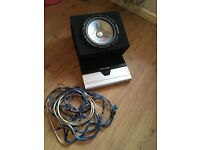 Alpine amp 5 channel pioneer 500 watt sub with 6x9s with full wiring kit