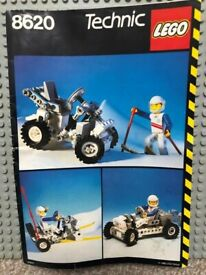 Lego 8620 - Snow Scooter TECHNIC