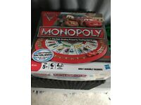 Cars monopoly board game