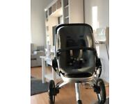 Quinny Buzz pushchair with accessories
