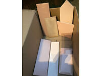 Misc free stuff: tiles/citronella/box/shims and more