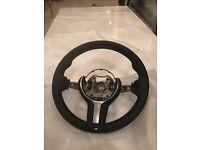 BMW leather M-sport steering wheel
