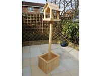 Bird Table with Planter