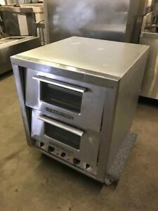 Electric Bakers pride double stone pizza oven for only $1895! ( like new ! ) save$$$