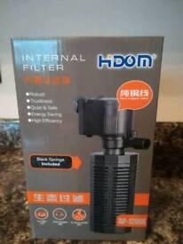 Fish tank filter
