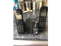 Panasonic KX-TGC21E cordless phones