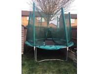 10ft trampoline £50