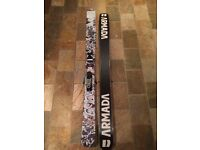 Armada Norwalk Skis with Rossignol bindings attached inc. poles