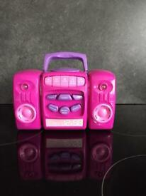 Girls Chad valley cd player