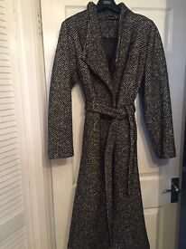Marks and Spencer ladies 50% wool coat