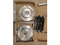 FORD FOCUS 1.6 BRAKE DISKS AND PADS