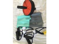 Selection of fitness equipment