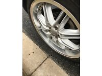 3 sets of alloy wheels