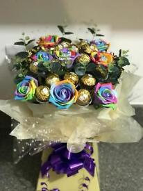 Chocolate bouquets gift hampers