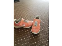 Girls Nike trainers size 12