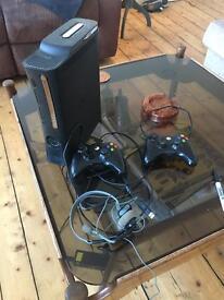 Xbox 360 and Logitech X-530 Surround Sound System