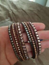 Swarovski snake bracelet brand new.