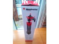 Manfrotto compact action tripod as new
