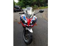 Triumph Daytona 600 2004 low miles previously catd excellent condition must be seen.