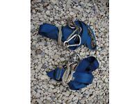 Pair Of Blue Nylon Webbing,( Crewsaver),Sailing Safety Harnesses.