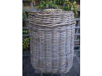john lewis? large laundry basket and liner unused,