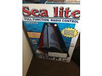 Sealite RC sailboat