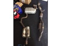 2009 Audi S3 Quattro stainless exhaust system