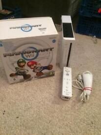 Nintendo Wii and mario kart