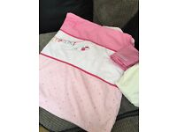 Girls cot/cotbed bedding