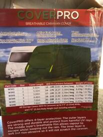 Caravan cover pro 23-25ft breathable cover