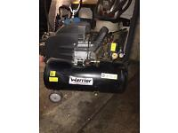 50L warrior Air Compressor. 115psi working
