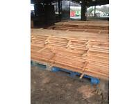 Planked. Cedar wood