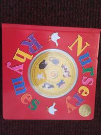 BARGAIN: Nursery Rhymes hardback book and CD