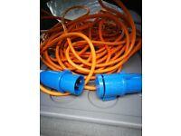 Electric Hook Up Cable for Caravan or Campervan