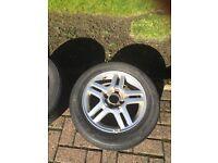 "Ford Focus 15"" Alloy Wheel & Tyre"