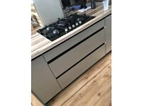 ODINA KITCHEN DOOR CABINETS DRAWER FRONTS REPLACEMENTS 24 DOORS FRONT HOMEBASE CHAMPAGNE BARGAIN