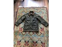 VINTAGE 1980's Barbour **Rare Barbour Bedale 2 Royal Crest Waxed Jacket **