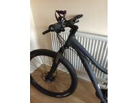 Women's Trek Mountain bike used once!!