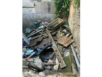 WASTE RUBBISH REMOVAL CALL FLYING OUT THE DOOR