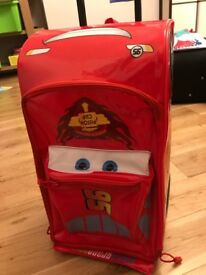 Lightning McQueen Rolling Luggage, Disney