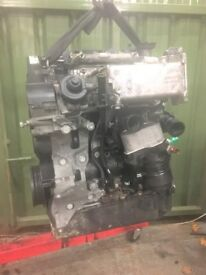 VW GOLF SEAT SKODA AUDI 2.0 GT TDI BARE ENGINE code CUN