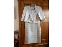 Luis Civit Dress with matching Jacket - sutable for occassions Size 16