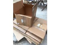 Cardboard packing boxes FREE to collect from LS9