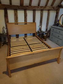King size bed frame in very good condition