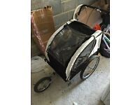 bike trailer, double seater